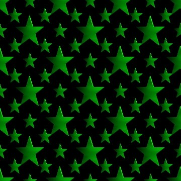 Click to get the codes for this image. 3d Green Stars Wallpaper On Black Background, Stars, Metallic, Green Background Wallpaper Image or texture free for any profile, webpage, phone, or desktop
