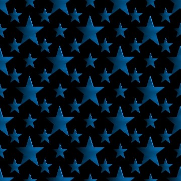Click to get the codes for this image. 3d Light Blue Stars Wallpaper On Black Background, Stars, Metallic, Blue Background Wallpaper Image or texture free for any profile, webpage, phone, or desktop