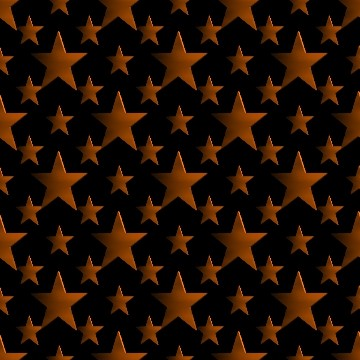 Click to get the codes for this image. 3d Orange Stars Wallpaper On Black Background, Stars, Metallic, Orange Background Wallpaper Image or texture free for any profile, webpage, phone, or desktop