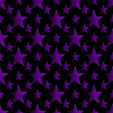 Click to get the codes for this image. 3d Purple Stars Wallpaper On Black Background, Stars, Metallic, Purple Background Wallpaper Image or texture free for any profile, webpage, phone, or desktop