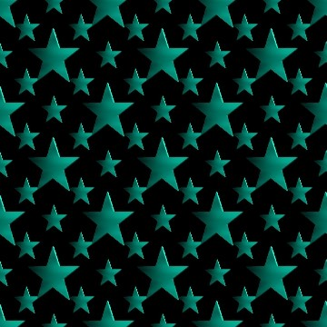 Click to get the codes for this image. 3d Turquoise Stars Wallpaper On Black Background, Stars, Metallic, Aqua Background Wallpaper Image or texture free for any profile, webpage, phone, or desktop