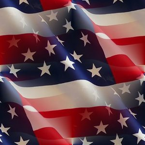 Click to get the codes for this image. American Flags With Ripples Seamless, Patriotic Background Wallpaper Image or texture free for any profile, webpage, phone, or desktop