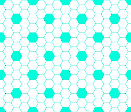 Click to get the codes for this image. Aqua And White Hexagon Tile Seamless Background Pattern, Tile, Aqua Background Wallpaper Image or texture free for any profile, webpage, phone, or desktop
