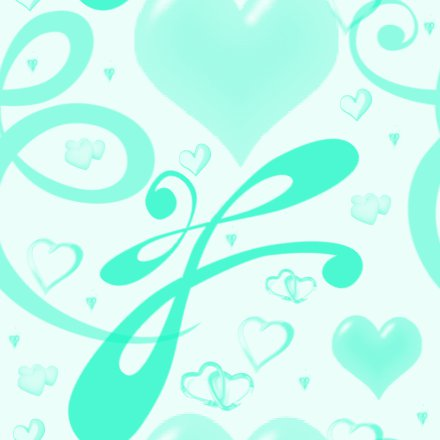 Click to get the codes for this image. Aqua Hearts And Swirls Background Seamless, Hearts, Aqua Background Wallpaper Image or texture free for any profile, webpage, phone, or desktop