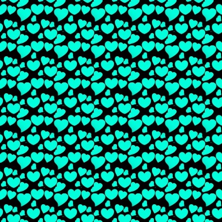 Click to get the codes for this image. Aqua Hearts On Black, Aqua, Hearts Background Wallpaper Image or texture free for any profile, webpage, phone, or desktop