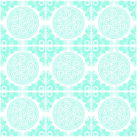 Click to get the codes for this image. Aqua Ornate Circles And Squares On White, Aqua, Ornate, Circles Background Wallpaper Image or texture free for any profile, webpage, phone, or desktop