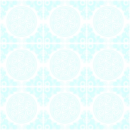 Click to get the codes for this image. Aqua Ornate Circles And Squares Watermark, Aqua, Ornate, Circles, Watermark Background Wallpaper Image or texture free for any profile, webpage, phone, or desktop