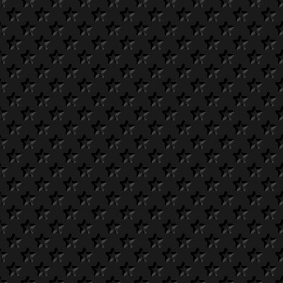 Click to get the codes for this image. Beveled Black Stars Background Seamless, Beveled and Indented, Stars, Black, Dark Background Wallpaper Image or texture free for any profile, webpage, phone, or desktop