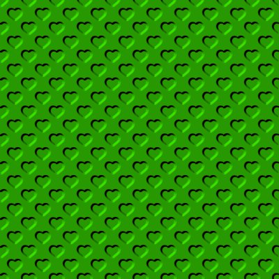 Click to get the codes for this image. Beveled Bright Kelly Green Hearts Background Seamless, Beveled and Indented, Hearts, Green Background Wallpaper Image or texture free for any profile, webpage, phone, or desktop