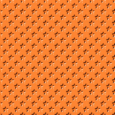 Click to get the codes for this image. Beveled Bright Orange Stars Background Seamless, Beveled and Indented, Stars, Orange Background Wallpaper Image or texture free for any profile, webpage, phone, or desktop