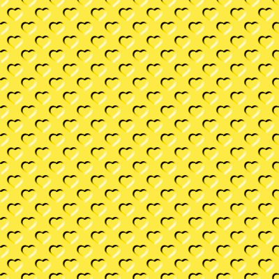 Click to get the codes for this image. Beveled Bright Yellow Hearts Background Seamless, Beveled and Indented, Hearts, Yellow Background Wallpaper Image or texture free for any profile, webpage, phone, or desktop