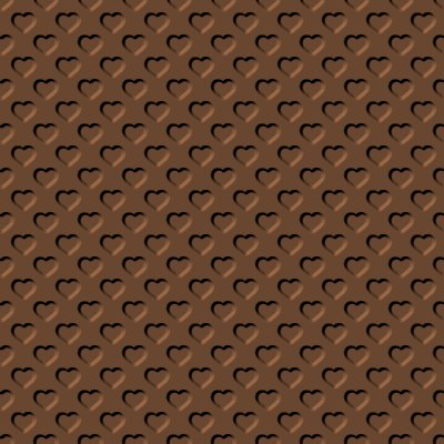 Click to get the codes for this image. Beveled Brown Hearts Background Seamless, Beveled and Indented, Hearts, Brown Background Wallpaper Image or texture free for any profile, webpage, phone, or desktop