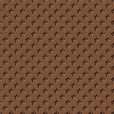 Click to get the codes for this image. Beveled Brown Stars Background Seamless, Beveled and Indented, Stars, Brown Background Wallpaper Image or texture free for any profile, webpage, phone, or desktop