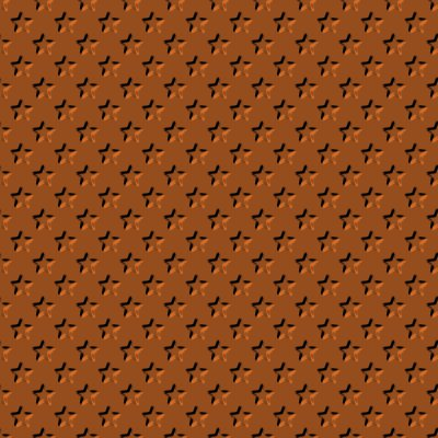 Click to get the codes for this image. Beveled Burnt Orange Stars Background Seamless, Beveled and Indented, Stars, Orange, Brown Background Wallpaper Image or texture free for any profile, webpage, phone, or desktop