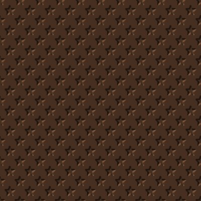 Click to get the codes for this image. Beveled Chocolate Brown Stars Background Seamless, Beveled and Indented, Stars, Brown Background Wallpaper Image or texture free for any profile, webpage, phone, or desktop