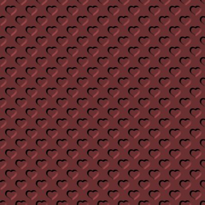 Click to get the codes for this image. Beveled Clay Red Hearts Background Seamless, Beveled and Indented, Hearts, Red Background Wallpaper Image or texture free for any profile, webpage, phone, or desktop