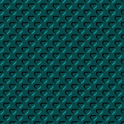 Click to get the codes for this image. Beveled Dark Aqua Hearts Background Seamless, Beveled and Indented, Hearts, Aqua, Metallic Background Wallpaper Image or texture free for any profile, webpage, phone, or desktop