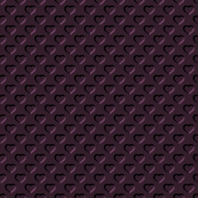 Click to get the codes for this image. Beveled Dark Mauve Hearts Background Seamless, Beveled and Indented, Hearts, Pink Background Wallpaper Image or texture free for any profile, webpage, phone, or desktop