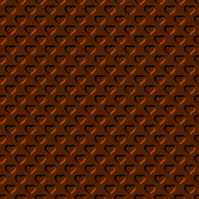 Click to get the codes for this image. Beveled Dark Orange Hearts Background Seamless, Beveled and Indented, Hearts, Metallic, Brown, Orange Background Wallpaper Image or texture free for any profile, webpage, phone, or desktop