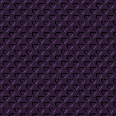Click to get the codes for this image. Beveled Dark Plum Hearts Background Seamless, Beveled and Indented, Hearts, Purple Background Wallpaper Image or texture free for any profile, webpage, phone, or desktop
