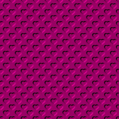 Click to get the codes for this image. Beveled Fuchsia Pink Hearts Background Seamless, Beveled and Indented, Hearts, Pink Background Wallpaper Image or texture free for any profile, webpage, phone, or desktop