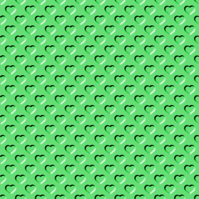 Click to get the codes for this image. Beveled Green Hearts Background Seamless, Beveled and Indented, Hearts, Green Background Wallpaper Image or texture free for any profile, webpage, phone, or desktop