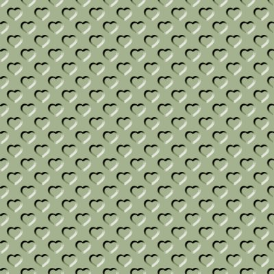 Click to get the codes for this image. Beveled Khaki Green Hearts Background Seamless, Beveled and Indented, Hearts, Green Background Wallpaper Image or texture free for any profile, webpage, phone, or desktop