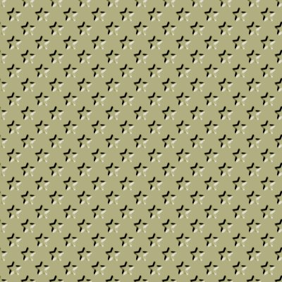 Click to get the codes for this image. Beveled Khaki Stars Background Seamless, Beveled and Indented, Stars, Green, Brown Background Wallpaper Image or texture free for any profile, webpage, phone, or desktop