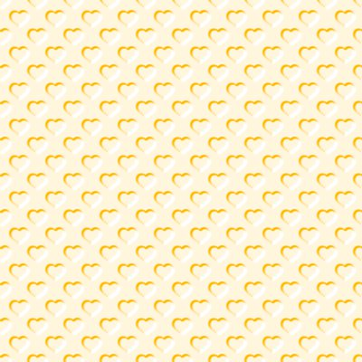 Click to get the codes for this image. Beveled Light Apricot Hearts Background Seamless, Beveled and Indented, Hearts, Yellow Background Wallpaper Image or texture free for any profile, webpage, phone, or desktop
