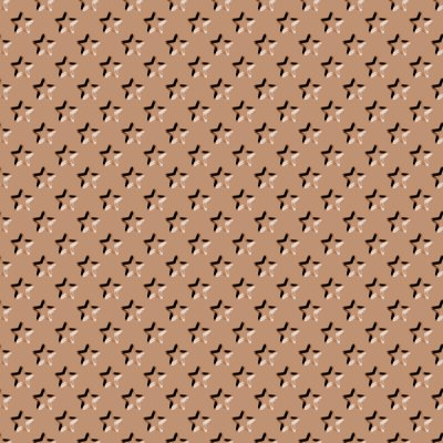 Click to get the codes for this image. Beveled Light Brown Stars Background Seamless, Beveled and Indented, Stars, Brown Background Wallpaper Image or texture free for any profile, webpage, phone, or desktop