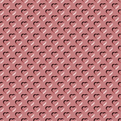 Click to get the codes for this image. Beveled Light Clay Red Hearts Background Seamless, Beveled and Indented, Hearts, Red Background Wallpaper Image or texture free for any profile, webpage, phone, or desktop