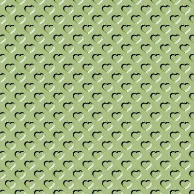 Click to get the codes for this image. Beveled Light Olive Green Hearts Background Seamless, Beveled and Indented, Hearts, Green Background Wallpaper Image or texture free for any profile, webpage, phone, or desktop