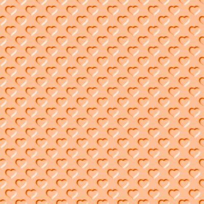 Click to get the codes for this image. Beveled Light Orange Hearts Background Seamless, Beveled and Indented, Hearts, Orange Background Wallpaper Image or texture free for any profile, webpage, phone, or desktop