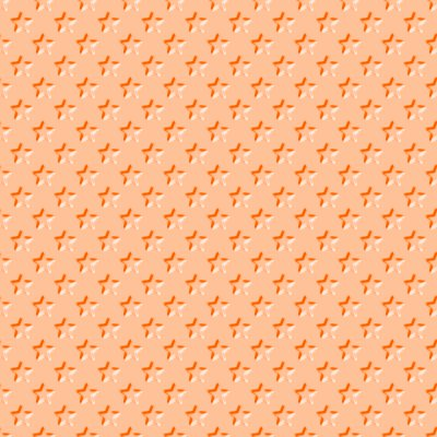 Click to get the codes for this image. Beveled Light Orange Stars Background Seamless, Beveled and Indented, Stars, Orange Background Wallpaper Image or texture free for any profile, webpage, phone, or desktop