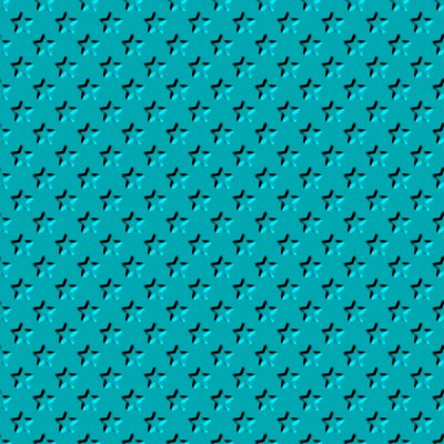 Click to get the codes for this image. Beveled Metallic Turquoise Stars Background Seamless, Beveled and Indented, Stars, Aqua, Metallic Background Wallpaper Image or texture free for any profile, webpage, phone, or desktop