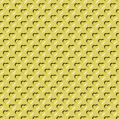 Click to get the codes for this image. Beveled Mustard Yellow Hearts Background Seamless, Beveled and Indented, Hearts, Yellow, Gold Background Wallpaper Image or texture free for any profile, webpage, phone, or desktop