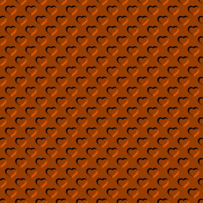Click to get the codes for this image. Beveled Orange Hearts Background Seamless, Beveled and Indented, Hearts, Orange Background Wallpaper Image or texture free for any profile, webpage, phone, or desktop