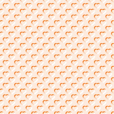 Click to get the codes for this image. Beveled Peach Colored Hearts Background Seamless, Beveled and Indented, Hearts, Orange Background Wallpaper Image or texture free for any profile, webpage, phone, or desktop