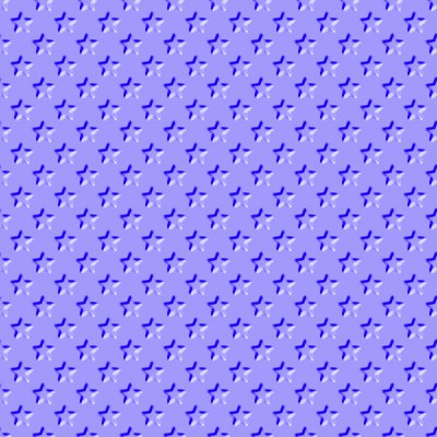 Click to get the codes for this image. Beveled Periwinkle Blue Stars Background Seamless, Beveled and Indented, Stars, Blue Background Wallpaper Image or texture free for any profile, webpage, phone, or desktop