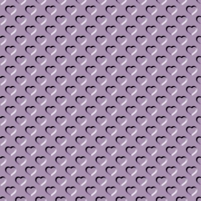 Click to get the codes for this image. Beveled Purple Heather Hearts Background Seamless, Beveled and Indented, Hearts, Purple, Gray Background Wallpaper Image or texture free for any profile, webpage, phone, or desktop