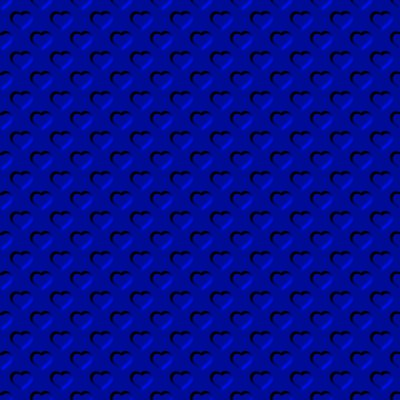 Click to get the codes for this image. Beveled Royal Blue Hearts Background Seamless, Beveled and Indented, Hearts, Blue Background Wallpaper Image or texture free for any profile, webpage, phone, or desktop