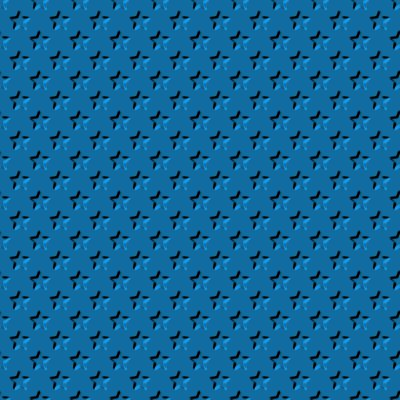 Click to get the codes for this image. Beveled Steel Blue Stars Background Seamless, Beveled and Indented, Stars, Blue Background Wallpaper Image or texture free for any profile, webpage, phone, or desktop