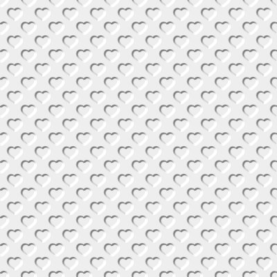 Click to get the codes for this image. Beveled White Hearts Background Seamless, Beveled and Indented, Hearts, White Background Wallpaper Image or texture free for any profile, webpage, phone, or desktop