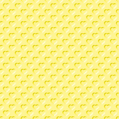 Click to get the codes for this image. Beveled Yellow Hearts Background Seamless, Beveled and Indented, Hearts, Yellow Background Wallpaper Image or texture free for any profile, webpage, phone, or desktop