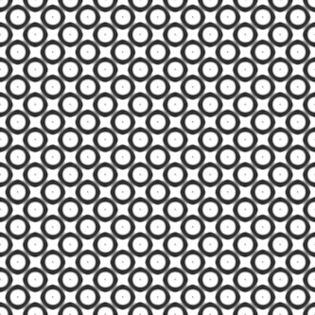Click to get the codes for this image. Black And White Circles And Dots Pattern, Black and White, Circles Background Wallpaper Image or texture free for any profile, webpage, phone, or desktop