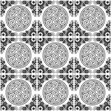 Click to get the codes for this image. Black Ornate Circles And Squares On White, Ornate, Black and White, Circles Background Wallpaper Image or texture free for any profile, webpage, phone, or desktop