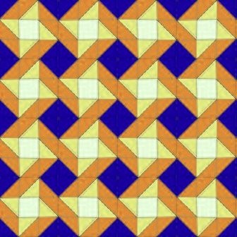 Click to get the codes for this image. Blue And Gold Seamless Quilt Pattern, Quilts Background Wallpaper Image or texture free for any profile, webpage, phone, or desktop