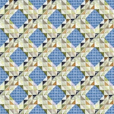 Click to get the codes for this image. Blue And Green Quilt Pattern Seamless, Quilts, Cloth Background Wallpaper Image or texture free for any profile, webpage, phone, or desktop