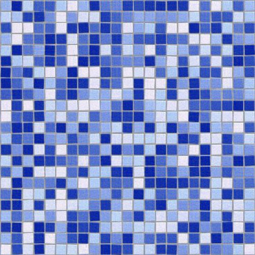 Click to get the codes for this image. Blue And White Mosaic Tile Background Texture, Checkers and Squares, Tile, Blue Background Wallpaper Image or texture free for any profile, webpage, phone, or desktop