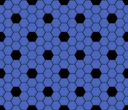Click to get the codes for this image. Blue Gray And Black Hexagon Tile Seamless Background Pattern, Tile, Blue Background Wallpaper Image or texture free for any profile, webpage, phone, or desktop